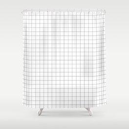 Cuadricula Shower Curtain