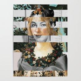 Sandro Botticelli's Flora & Ava Gardner Poster