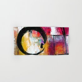 Enso Abstraction No. mm15 Hand & Bath Towel