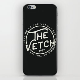 Vetch Field Football Ground iPhone Skin