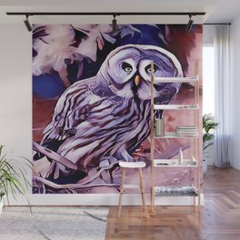 The Great Grey Owl Wall Mural