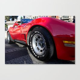 Tyre Canvas Print