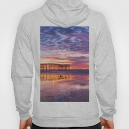 Low Tide Sunset Reflections Hoody