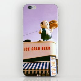 Ice Cold Beer, Coney Island iPhone Skin