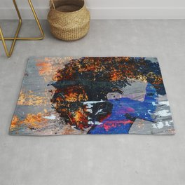 Blue Magic Rug