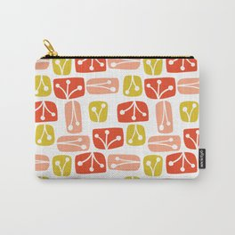 Fresh Abstract Floral Carry-All Pouch