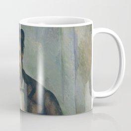 Paul Cézanne - Seated Peasant (1892–96) Coffee Mug