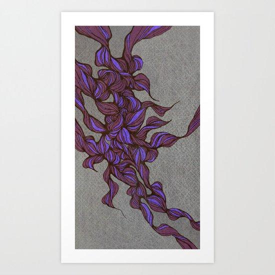 Waves #2 Art Print