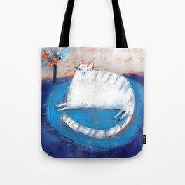 FRINGED RUG Tote Bag