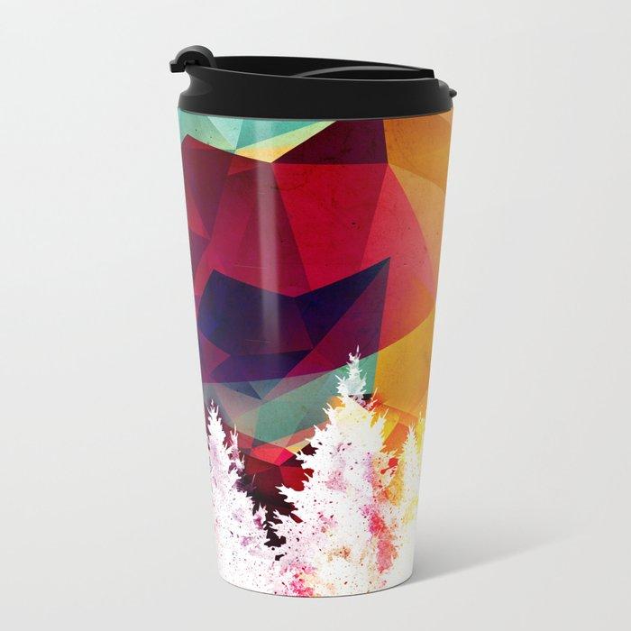 Forest explosion of color Metal Travel Mug