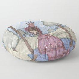 Fantasy art, Red Queen Floor Pillow