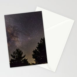 Milkyway at the mountains. Saggitarius Antares and Rho Ophiuchus Stationery Cards
