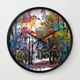 Sunday Walk Wall Clock