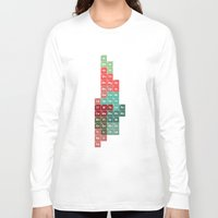 periodic table Long Sleeve T-shirts featuring Periodic Manhattan by VIGILISM