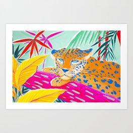 Vibrant Jungle Art Print
