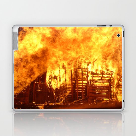 Burning Down the House Laptop & iPad Skin