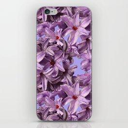 Hyacinth iPhone Skin