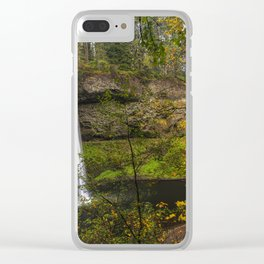 Best of Silver Falls Clear iPhone Case