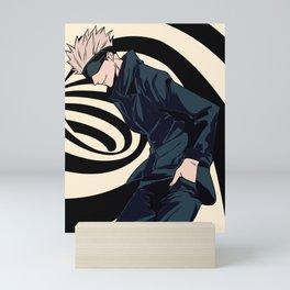 Gojo Satoru Jujutsu Kaisen Anime Mini Art Print