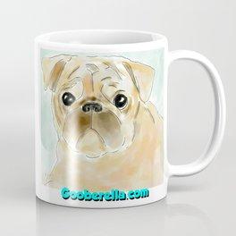 Pug face brown Coffee Mug