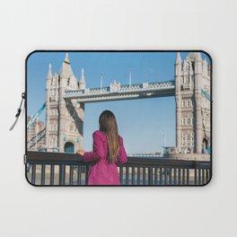 Woman in London Laptop Sleeve