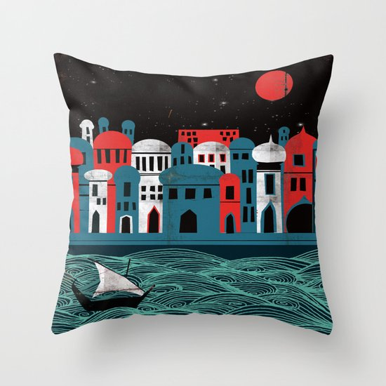 Scheherazade - Rimsky Korsakov Throw Pillow