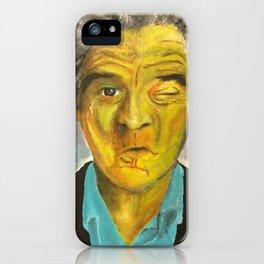 Yellow Robert De Niro iPhone Case