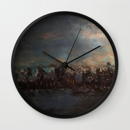 The Disintegrated Reality Wall Clock