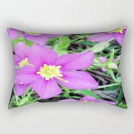 Purple Rectangular Pillow