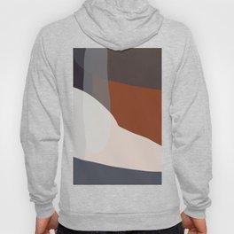 Navy & Rust VIII Abstract Hoody