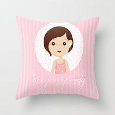 Sugarparty Throw Pillow