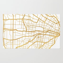 ST. LOUIS MISSOURI CITY STREET MAP ART Rug