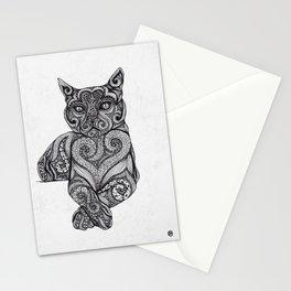 Zentangle Cat Stationery Cards