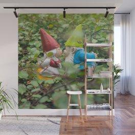 First Kiss - Garden Gnome Wall Mural