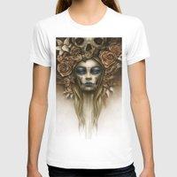 dia de los muertos T-shirts featuring Dia de los Muertos by Marc Potts