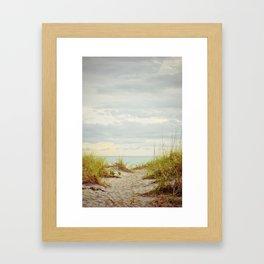 Salty Tranquility Framed Art Print
