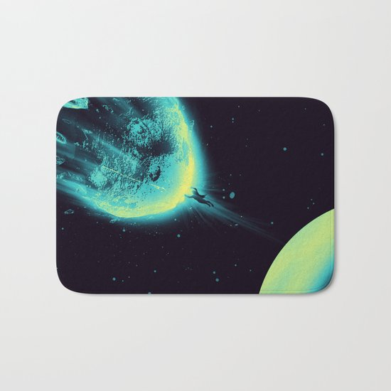 There Is No Planet to Save Bath Mat