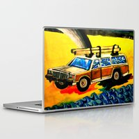 hunting Laptop & iPad Skins featuring Gold Hunting by C Z A V E L L E