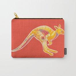 Mandala Kangaroo Carry-All Pouch