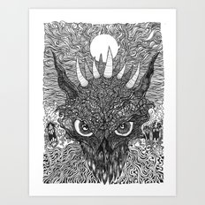 demondevildragon Art Print