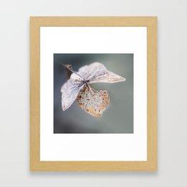 Sparkling Frost Framed Art Print