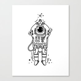 Cosmic Stranger 2 Canvas Print