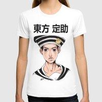jjba T-shirts featuring Jo2uke by dggeoffing
