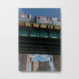 New York MTA Metal Print