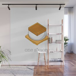 One More S'more Wall Mural