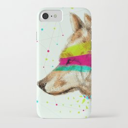 Cherokee Wolf II iPhone Case