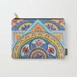Passiflora Mandala #1 Carry-All Pouch