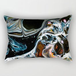 Abstract Melt X Rectangular Pillow