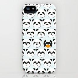 Panda'monium iPhone Case