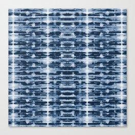 X-Ray Shibori Stripes Canvas Print